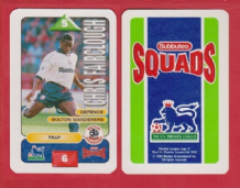 Bolton Wanderers Chris Fairclough S95